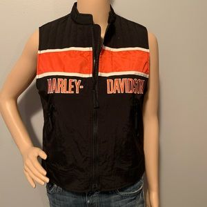 Harley Davidson Racing Women's XL Nylon Vest